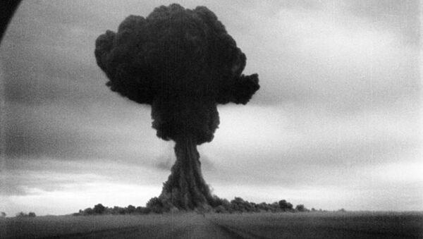 Testy pierwszej radzieckiej bomby atomowej, 1949 rok - Sputnik Polska