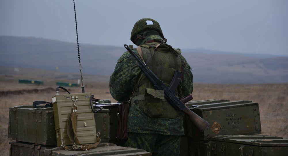 Taktyczne ćwiczenia wojskowe w ŁRL