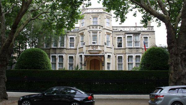 Ambasada Rosji w Londynie - Sputnik Polska
