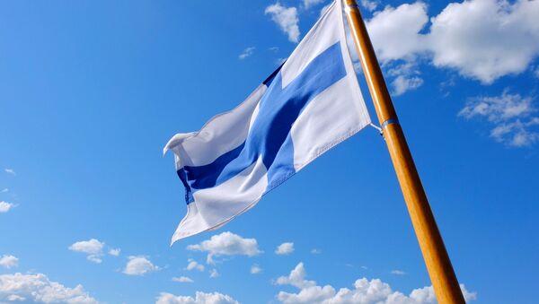 Flaga Finlandii - Sputnik Polska
