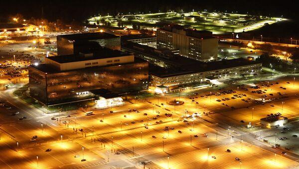 Widok na siedzibę NSA w USA - Sputnik Polska