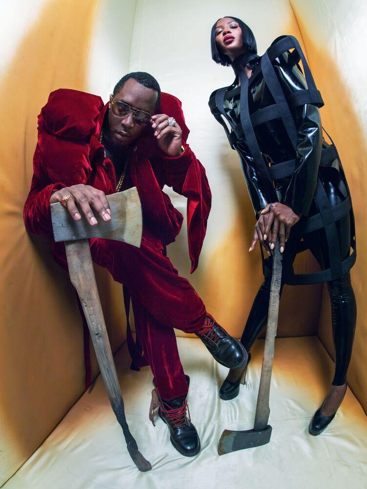 Naomi Campbell i Sean John Combs