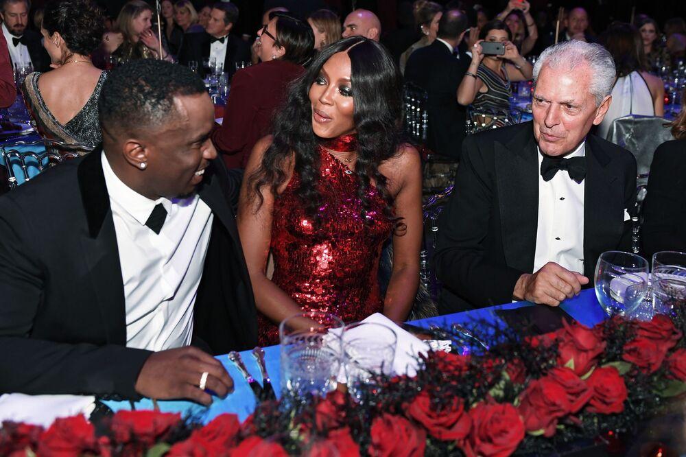 Sean 'P. Diddy' Combs i Naomi Campbell
