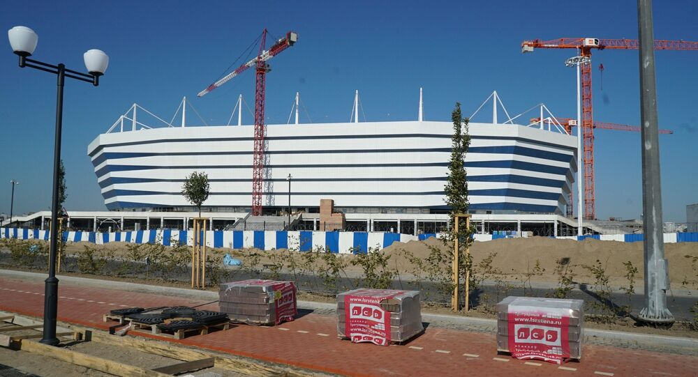 Stadion w Kaliningradzie