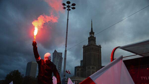 Marsz 11 listopada w Warszawie - Sputnik Polska