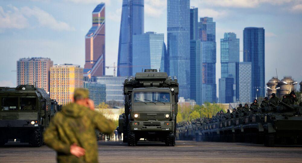 Iskander w Moskwie