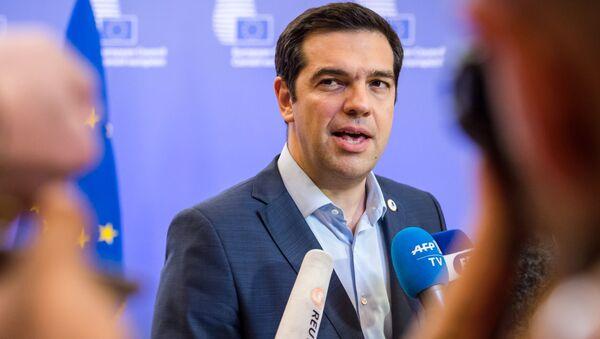 Aleksis Tsipras - Sputnik Polska