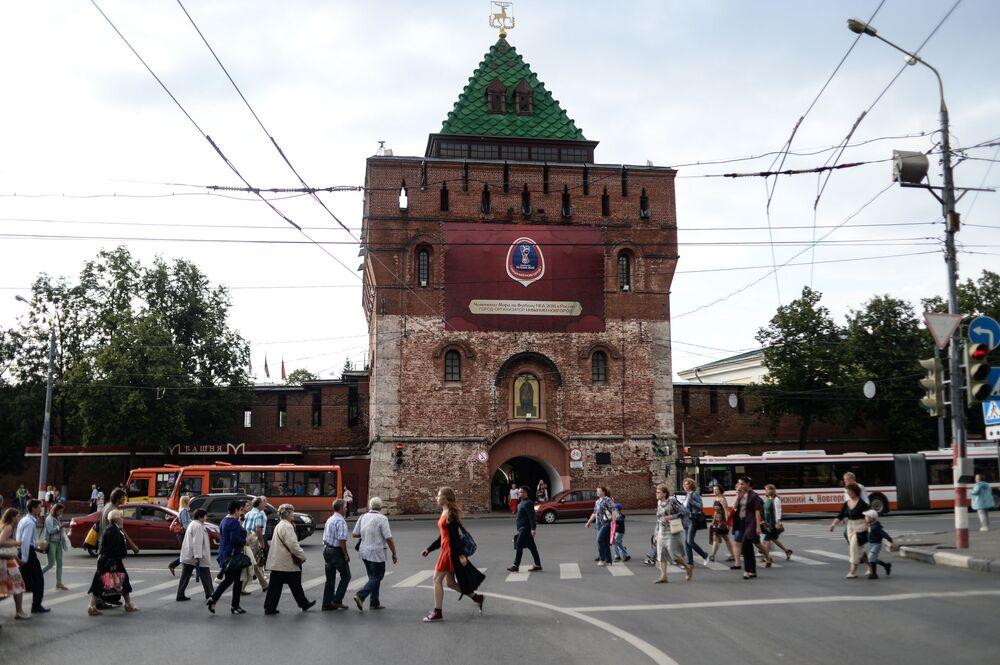 Baszta Kremla niżnonowogrodzkiego (budowa 1500–1511)