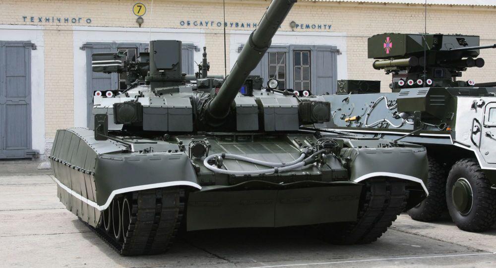 Czołg T-84 Opłot