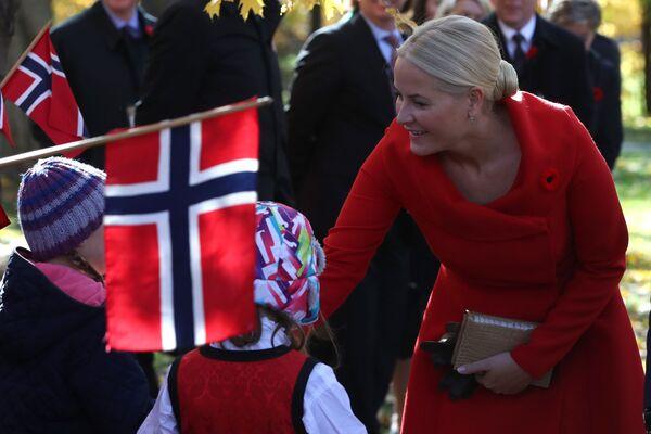 Mette-Marit, księżna koronna Norwegii - Sputnik Polska