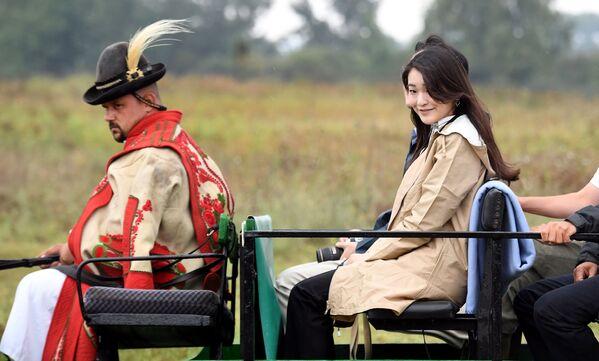 Księżniczka Mako -  Najstarsza córka księcia Akishino i jego żony, księżnej Kiko. Należy do japońskiej rodziny cesarskiej - Sputnik Polska