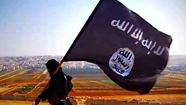 Terrorysta Daesh - Sputnik Polska