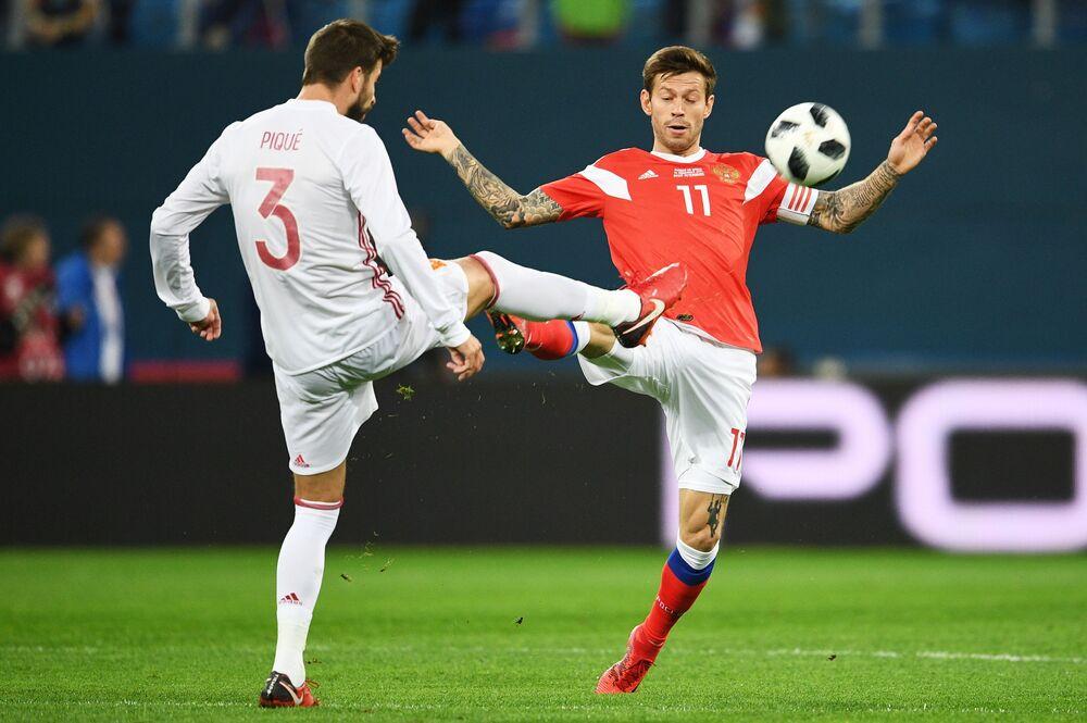 Mecz Rosja-Hiszpania