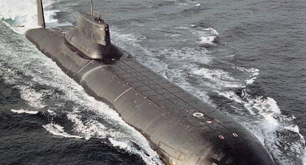 """Krążownik podwodny projektu 941 """"Akuła"""""""