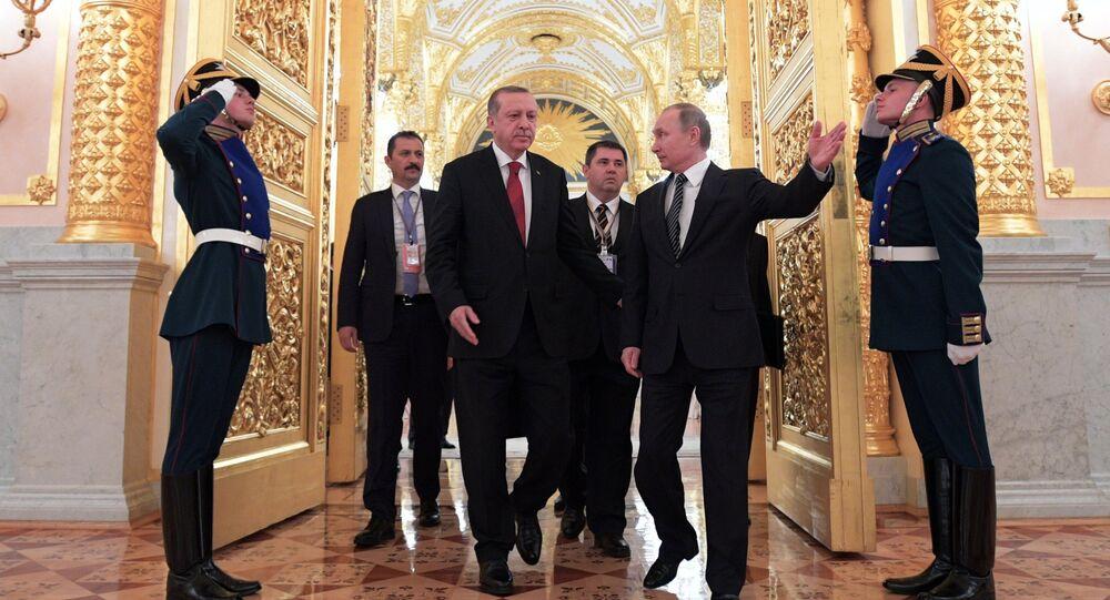 Władimir Putin i Tayyip Erdogan