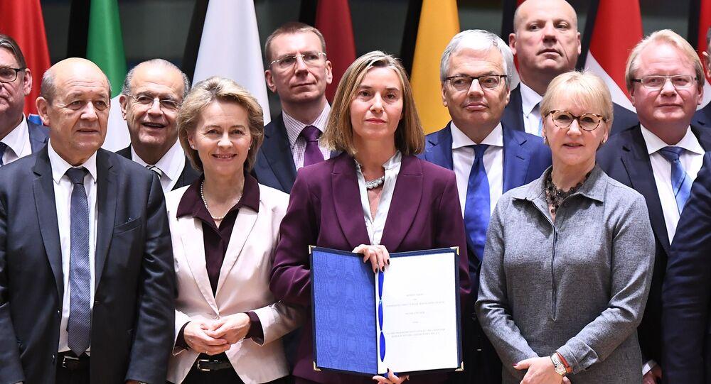 Podpisanie deklaracji PESCO