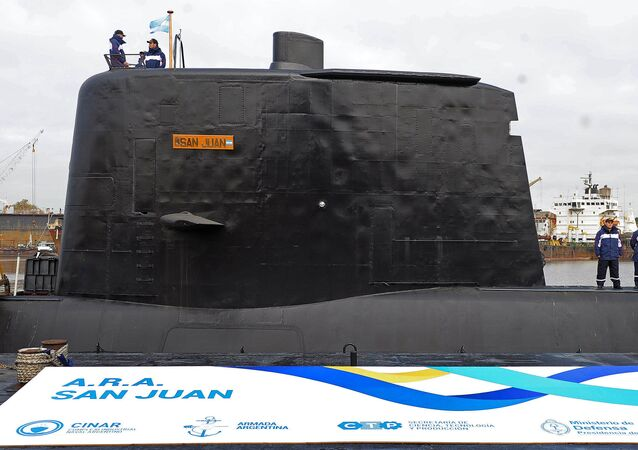 """Okręt podwodny """"San Juan"""""""