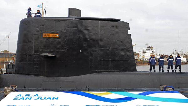 "Okręt podwodny ""San Juan"" - Sputnik Polska"