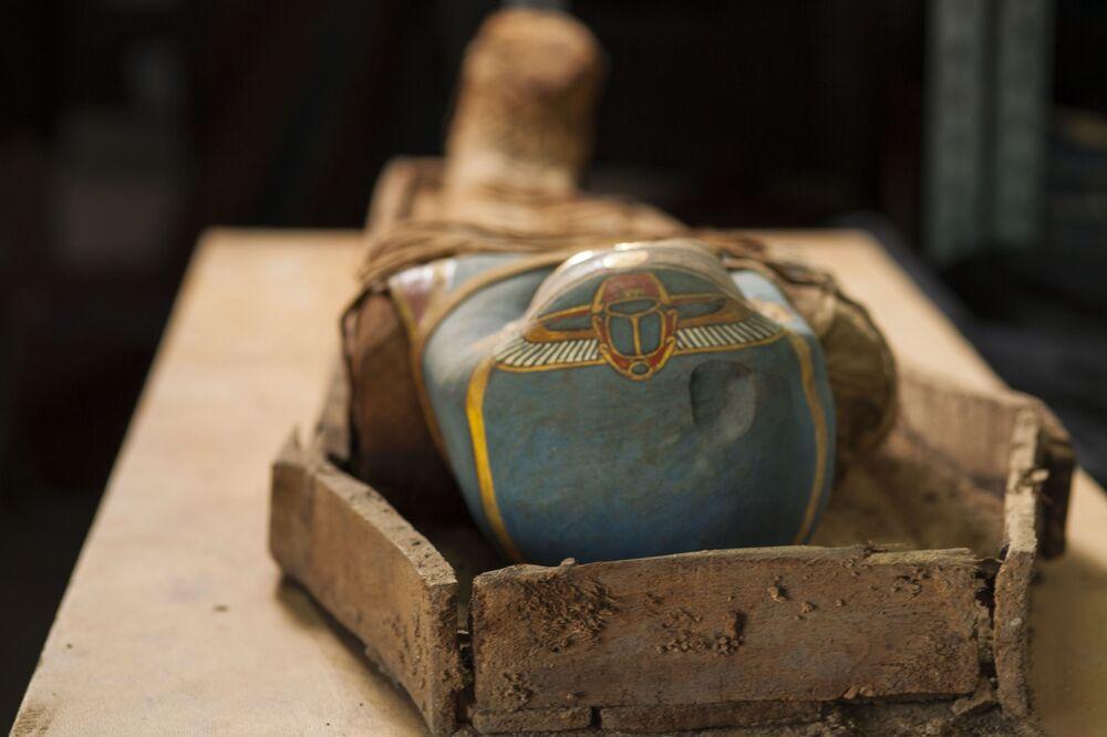 Kolejnym znaleziskiem naukowców była mumia bogatego Egipcjanina, który żył prawdopodobnie w grecko-rzymskim okresie historii Egiptu.