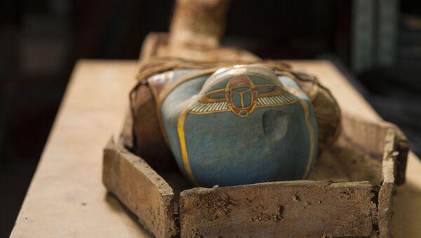 Egipska mumia - Sputnik Polska