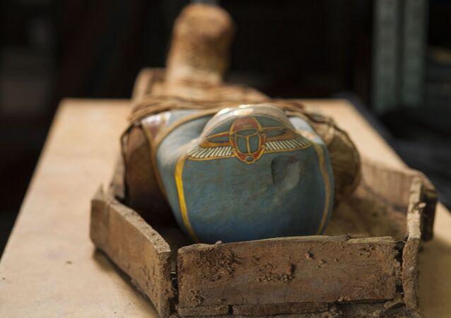 Egipska mumia.