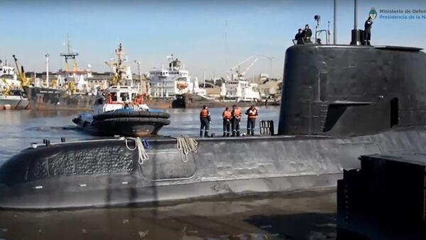 "Argentyński okręt podwodny ""San Juan"" - Sputnik Polska"
