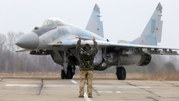 Ukraiński MiG-29 - Sputnik Polska