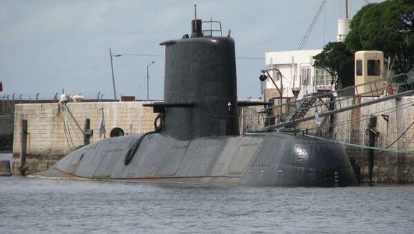 Argentyński pkręt podwodny San Juan - Sputnik Polska