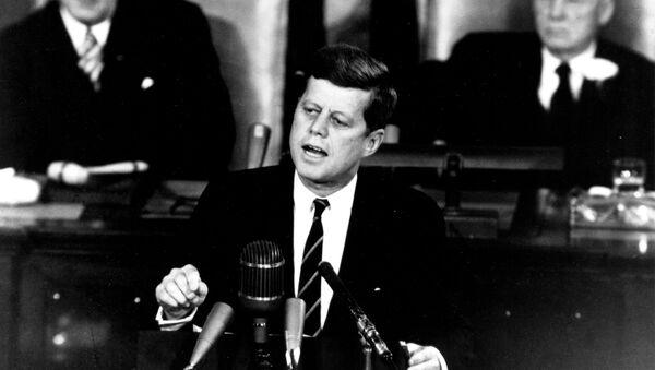 Prezydent USA John Kennedy - Sputnik Polska