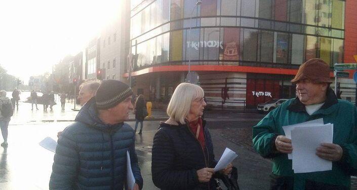 Akcja na ulicach Szczecina