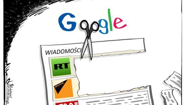 Google blokuje Sputnika i RT - Sputnik Polska