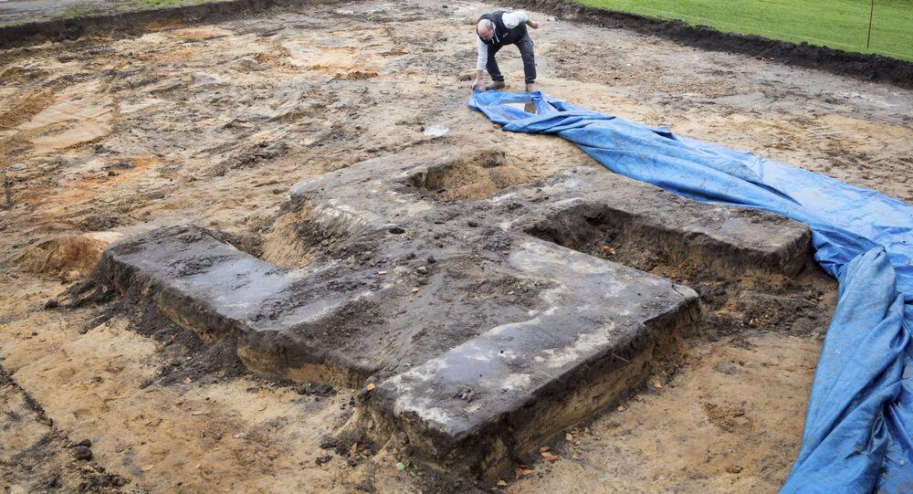 Ogromna swastyka znaleziona w czasie budowy stadionu w Hamburgu