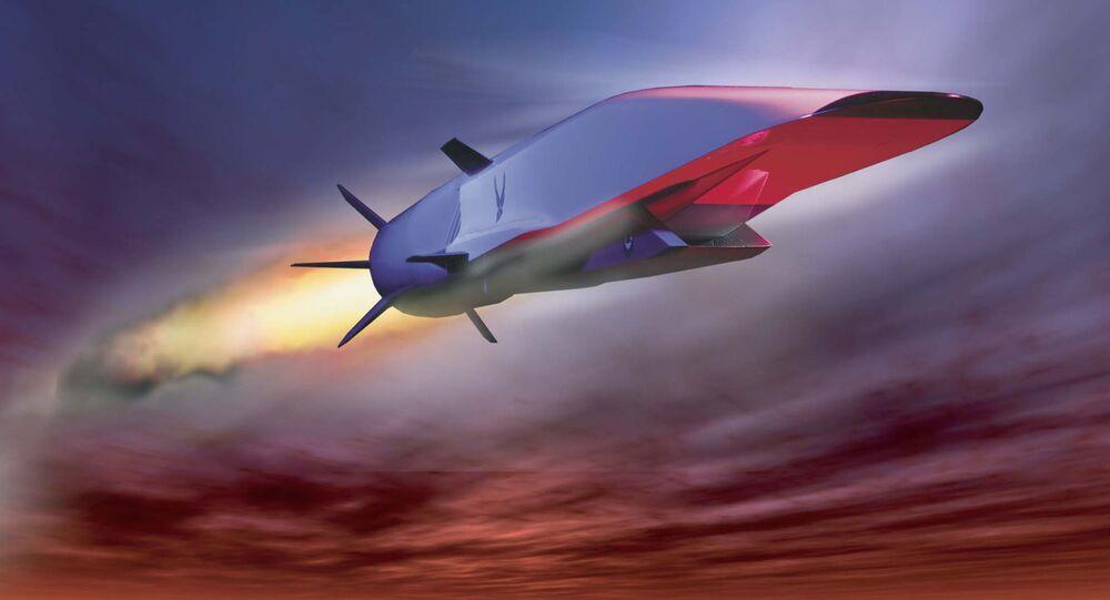 Rakieta hipersoniczna X-51A Waverider