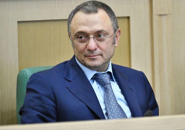 Członek Rady Federacji Rosji Sulejman Kerimow