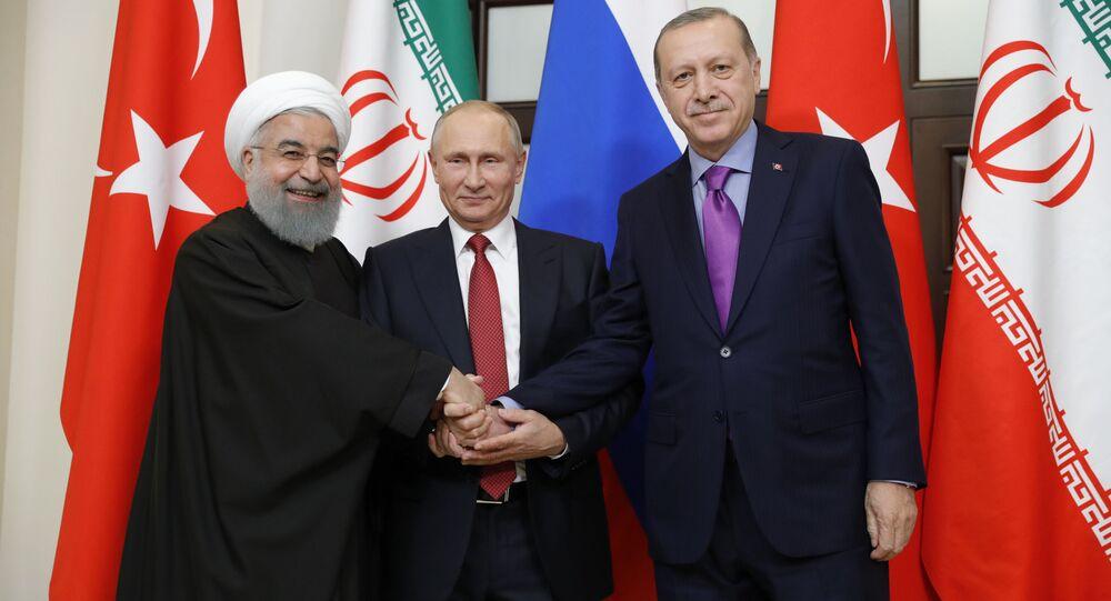 Prezydenci Iranu, Rosji i Turcji na spotkaniu w Soczi