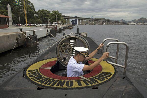 Kapitan brazylijskiej marynarki wojennej Jose Americo Alexandre Dias - Sputnik Polska