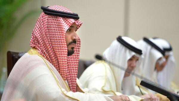 Zastępca następcy tronu Arabii Saudyjskiej, minister obrony Muhammad ibn Salman Al Su'ud - Sputnik Polska