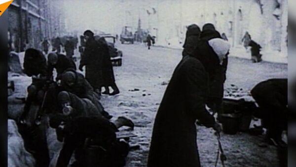 """""""Droga życia"""" została uruchomiona 76 lat temu w czasie Wielkiej Wojny Ojczyźnianej - Sputnik Polska"""
