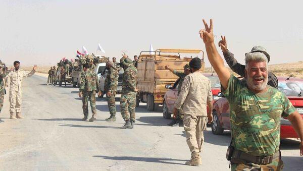 Syryjskie i rackie wojska połączyły się w Abu Kemal - Sputnik Polska