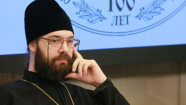 Archimandryta Sawa - Sputnik Polska