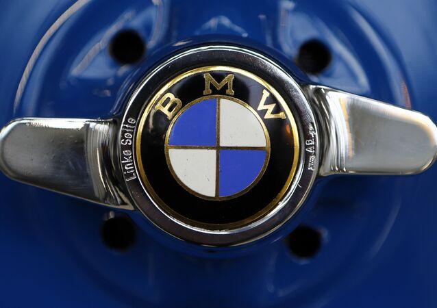Logo niemieckiego koncernu BMW