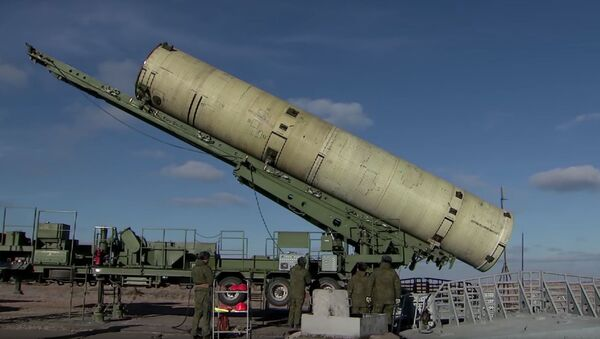 Uruchomienie zmodernizowanego systemu obrony antyrakietowej na poligonie Sary Shagan - Sputnik Polska