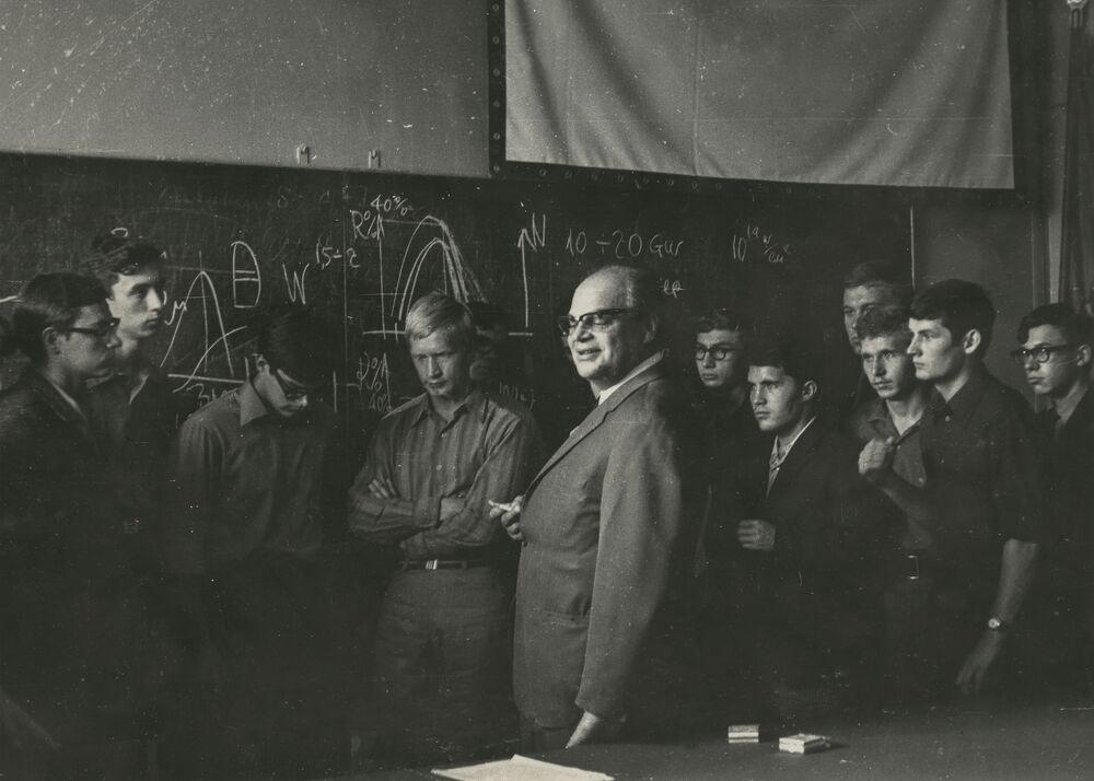 Laureat Nagrody Nobla w dziedzinie fizyki Nikołaj Giennadijewicz Basow