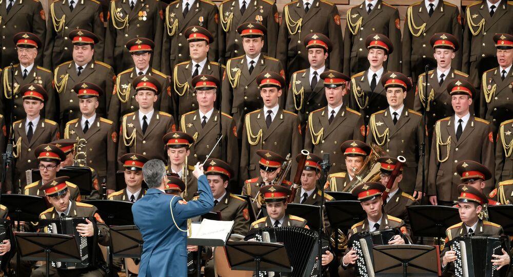 Koncert zespołu pieśni i tańca Armii Rosyjskiej im. Aleksandrowa
