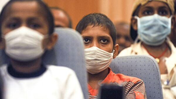 Indyjskie dzieci chore na raka - Sputnik Polska