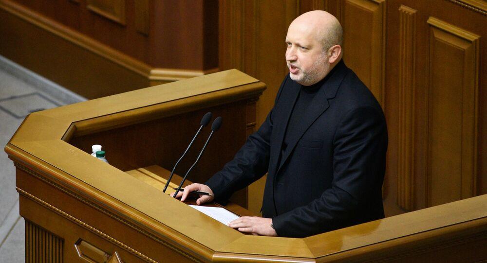 Sekretarz Rady Bezpieczeństwa i Obrony Ukrainy Aleksander Turczynow
