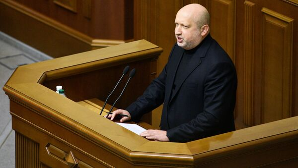 Sekretarz Rady Bezpieczeństwa i Obrony Ukrainy Aleksander Turczynow - Sputnik Polska
