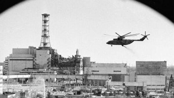Dekontaminacja elektrowni jądrowej w Czarnobylu - Sputnik Polska