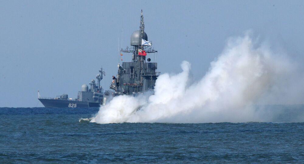 Okręt Floty Bałtyckiej