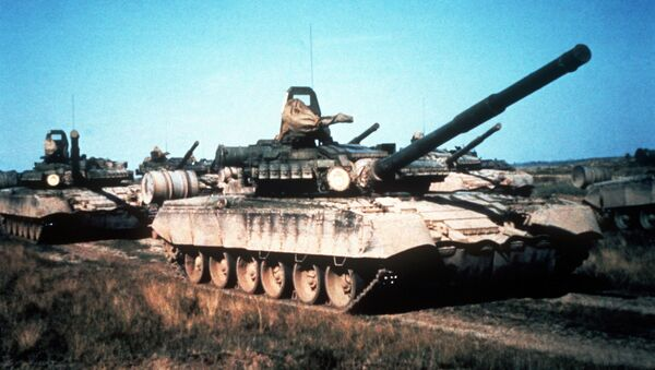 Radziecki czołg T-80 - Sputnik Polska